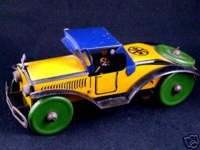 marx louis blech spielzeug rennauto rennwagen mit fahrer