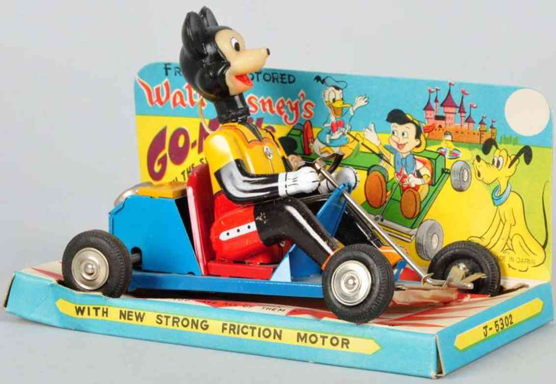 Marx Louis C Co. J-5302 Micky Go-mobile