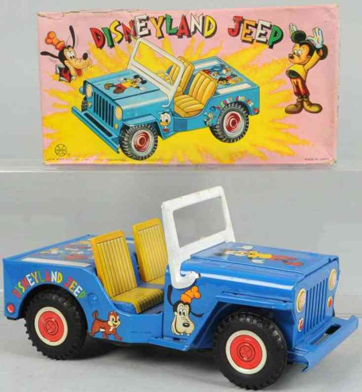 marx louis tin toy disneyland jeep