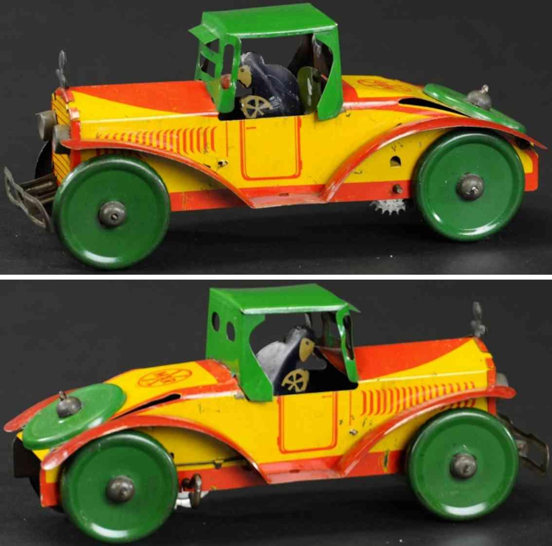 marx louis  blech spielzeug rennauto king rennwagen