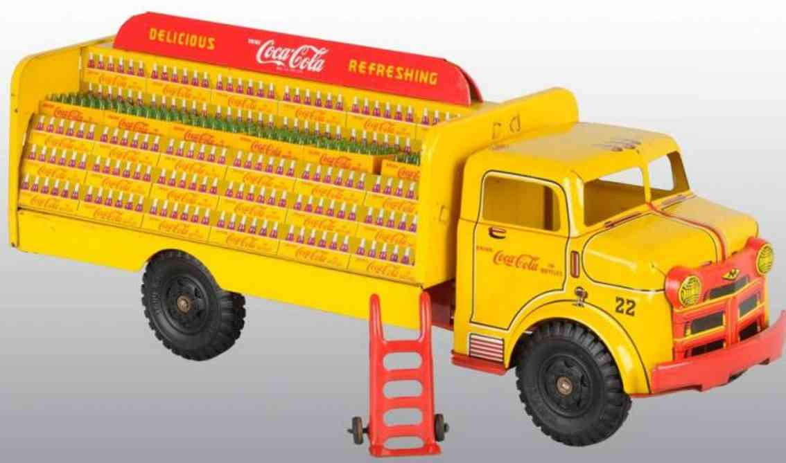 Marx Louis Co. Lumar Coca-Cola Lastwagen