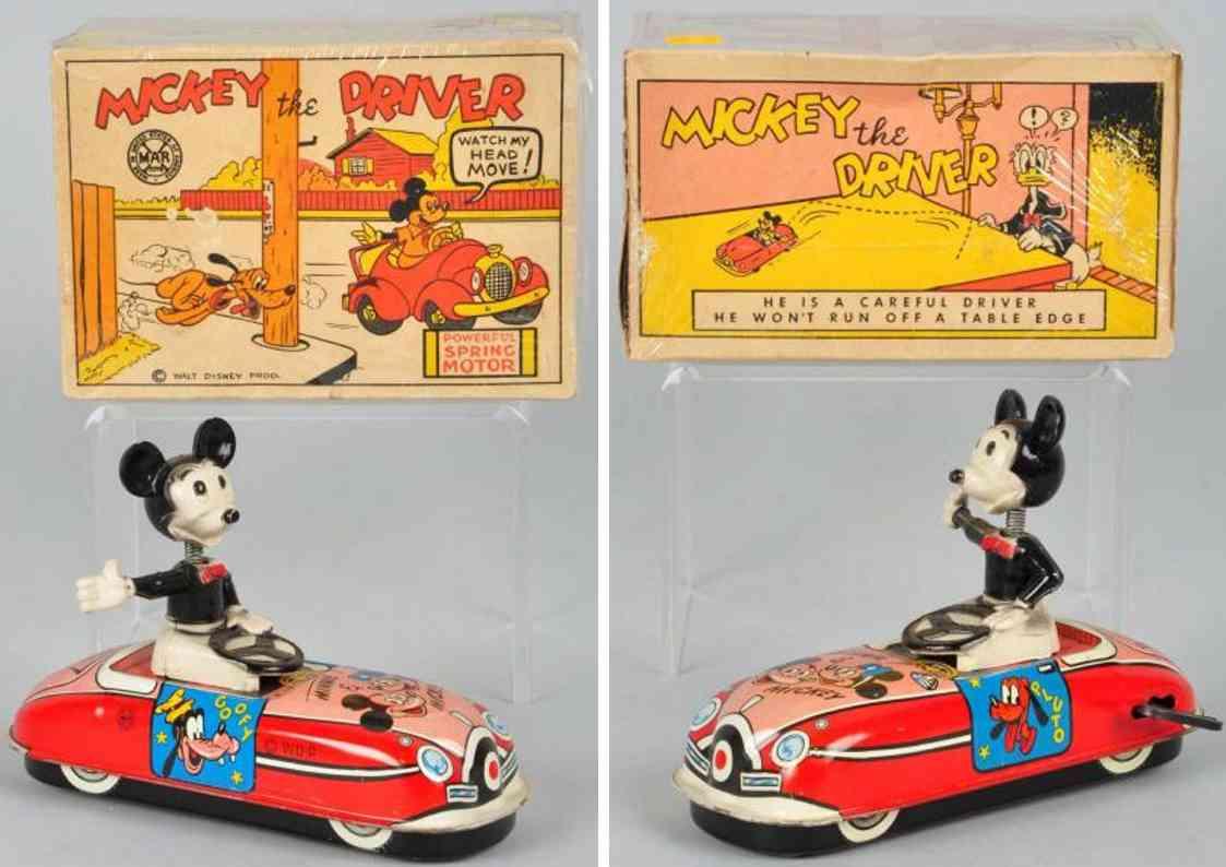 Marx Louis Micky Maus der Fahrer im Auto