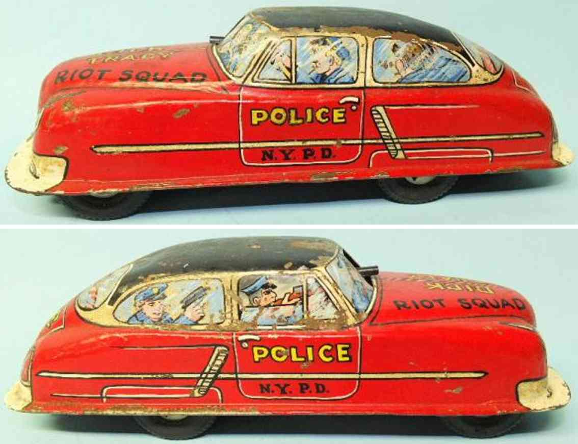 marx louis prototyp dick tracy ueberfallkommando nypd polizeiauto