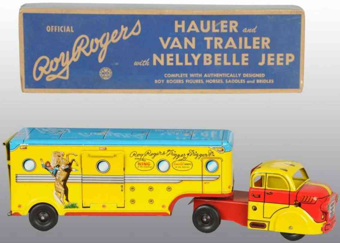 Marx Louis Co Roy Rogers Lastwagen