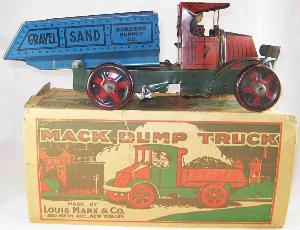 Marx Louis Dump Truck