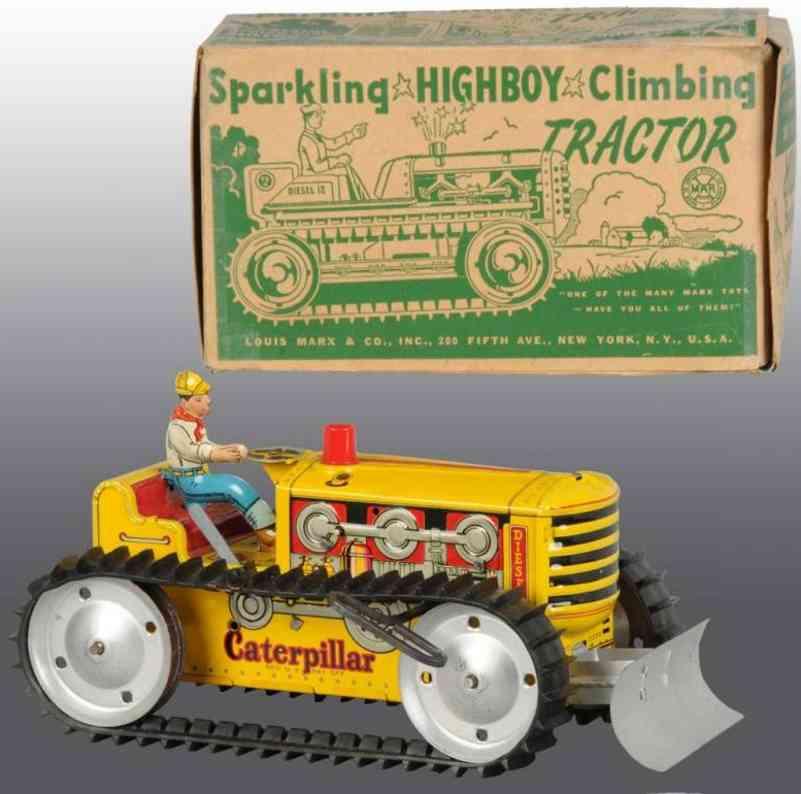 Marx Louis Sparkling highboy climbing tractor