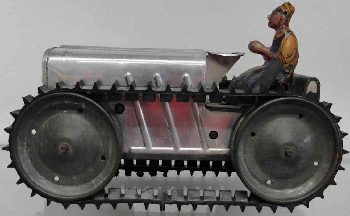 Marx Louis Traktor mit Fahrer Chrom Version