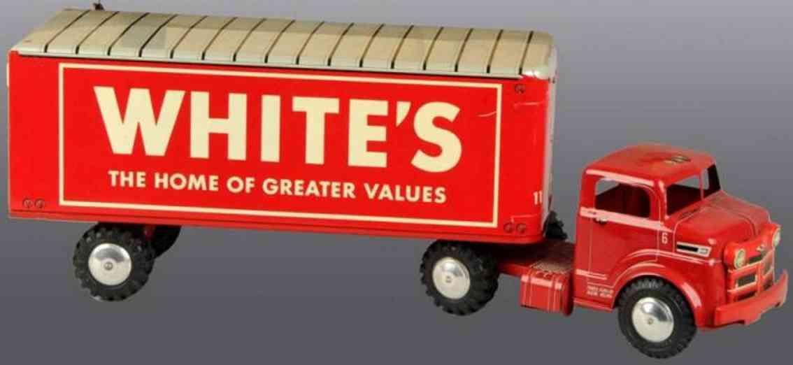 Marx Louis Co. 3631 Lieferwagen White's