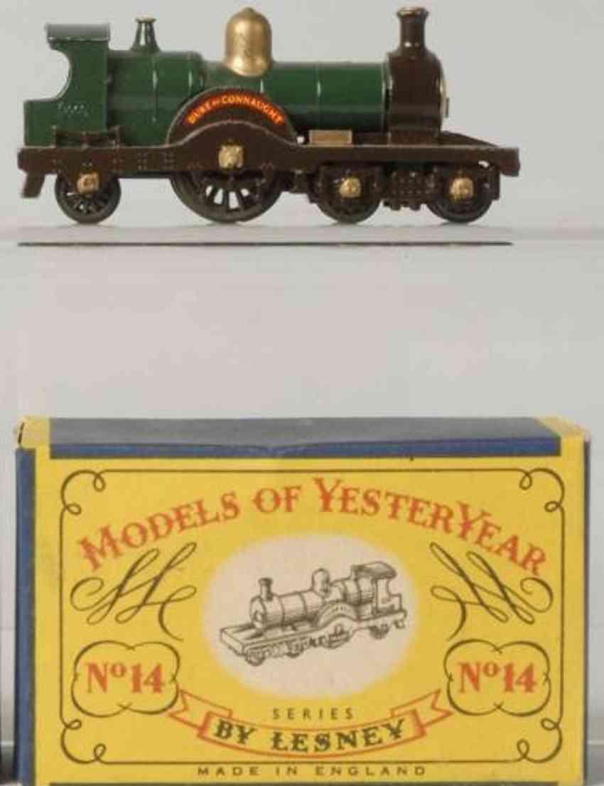 matchbox 14 druckguss duke von connaught lokomotive