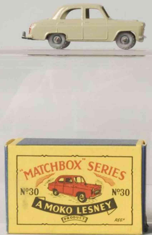 matchbox 30 druckguss ford prefect