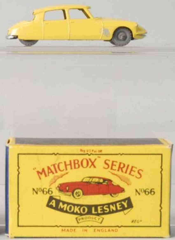 matchbox 66 diecast citroen ds 19