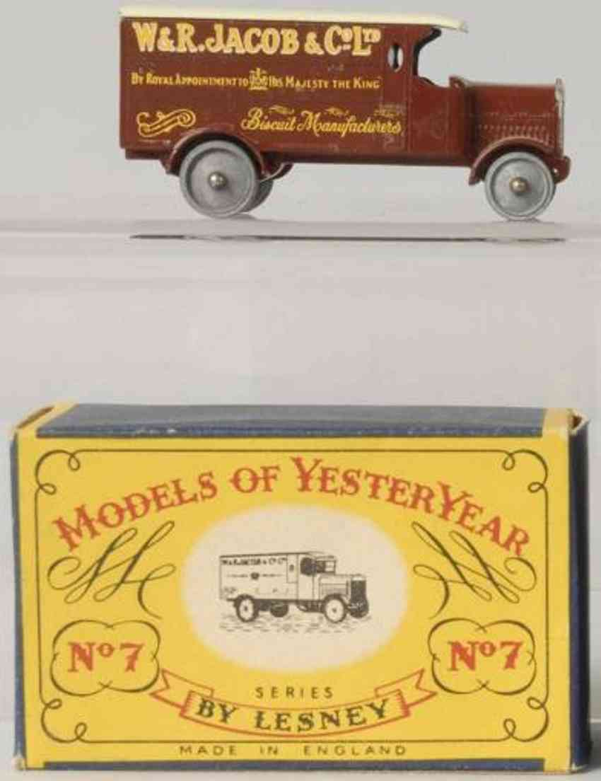 matchbox 7 diecast  leyland advertising truck jacob