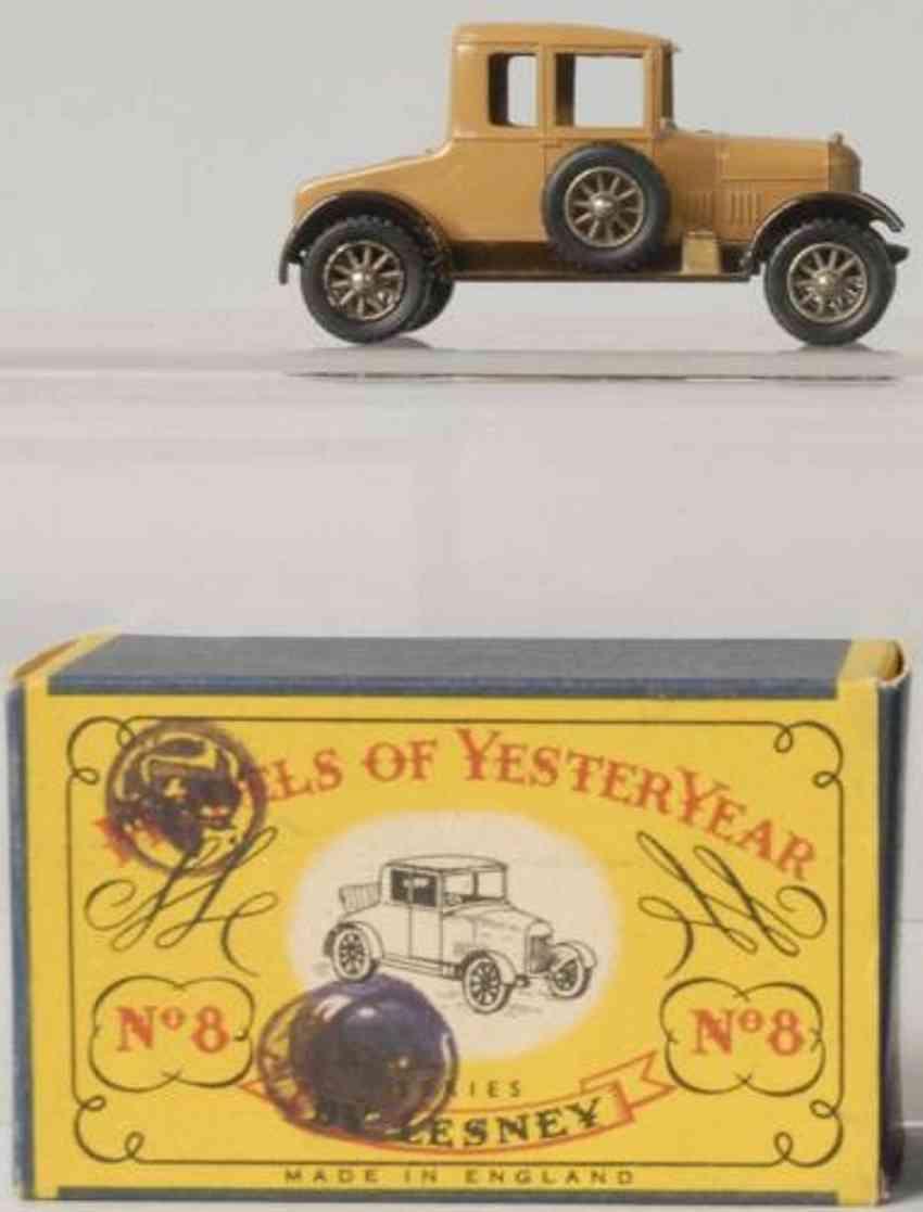 matchbox diecast 8 1926 morris cowley