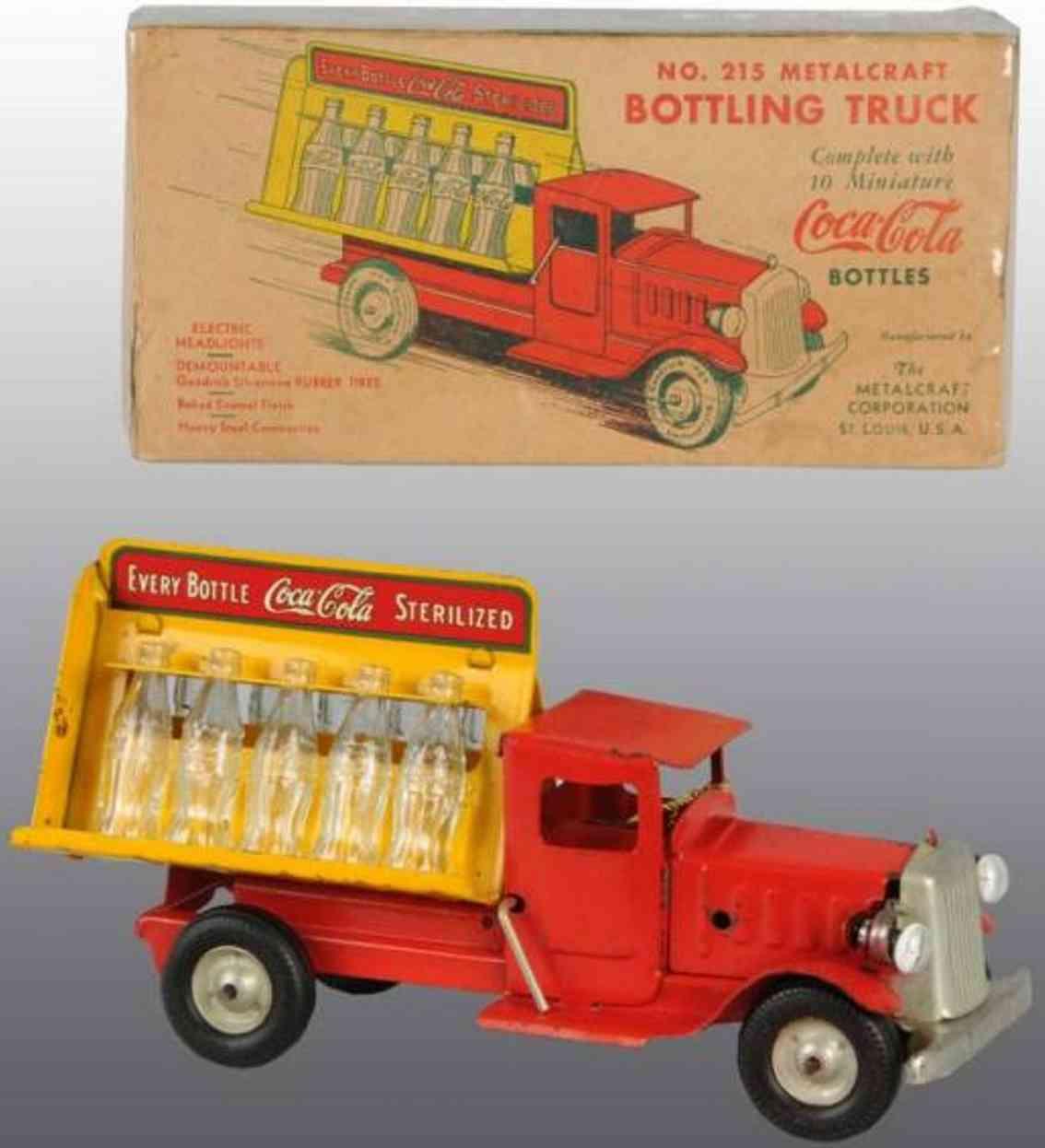 Metalcraft Corp. St Louis 215 Coca-Cola Lastwagen
