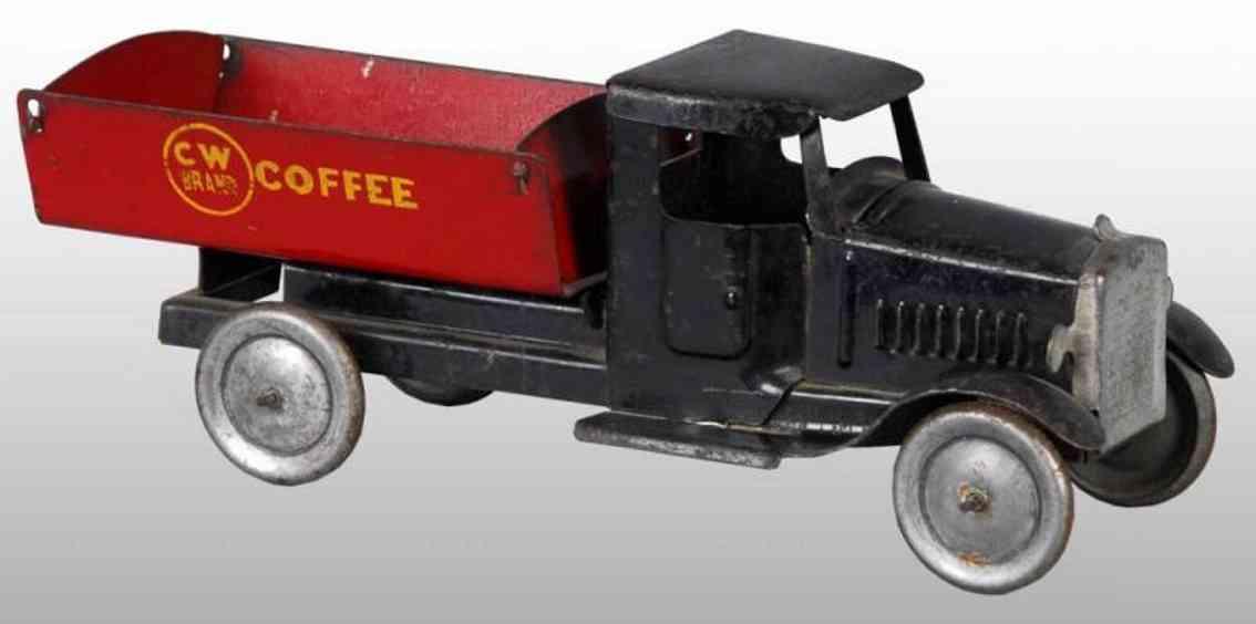 metalcraft corp st louis stahlblech pritschenwagen cw brand coffee