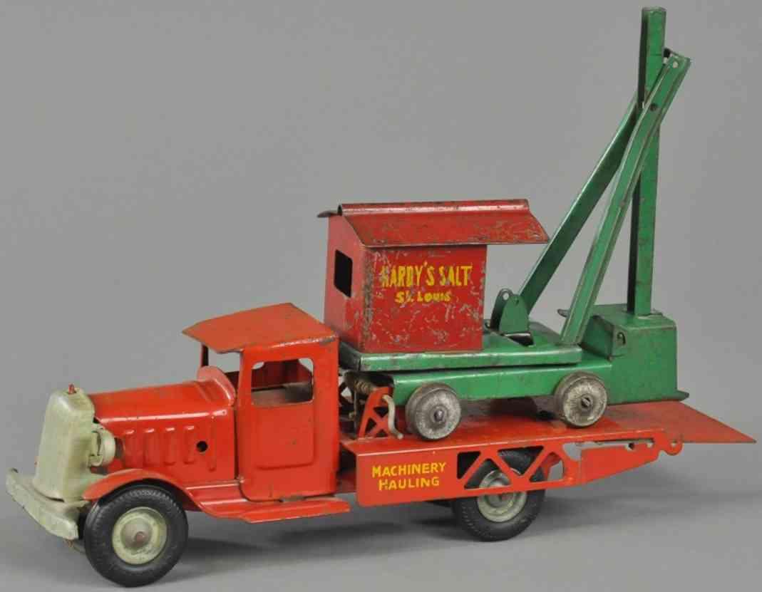 metalcraft corp st louis stahlblech spielzeug lastwagen schaufelbagger hardys salt