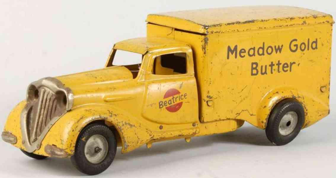 metalcraft corp st louis stahlblech meadow gold butter lastwagen