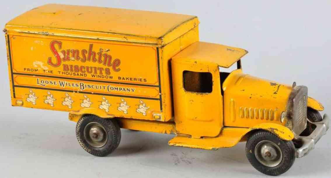 metalcraft corp st louis stahlblech lastwagen sunshine biscuits