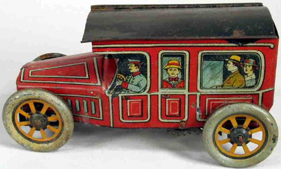 Mohawk Toys Oldtimer Limousine mit Uhrwerk