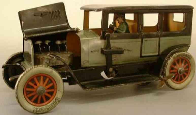 moko moses & kohnstamm blech spielzeug auto limousine