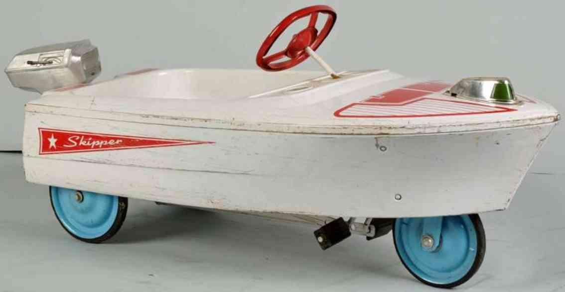 murray stahlblech tretauto skipper pedalboot