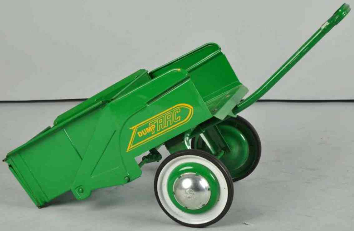 Murray dump trac Dump cart pedal toy made of pressed steel in green