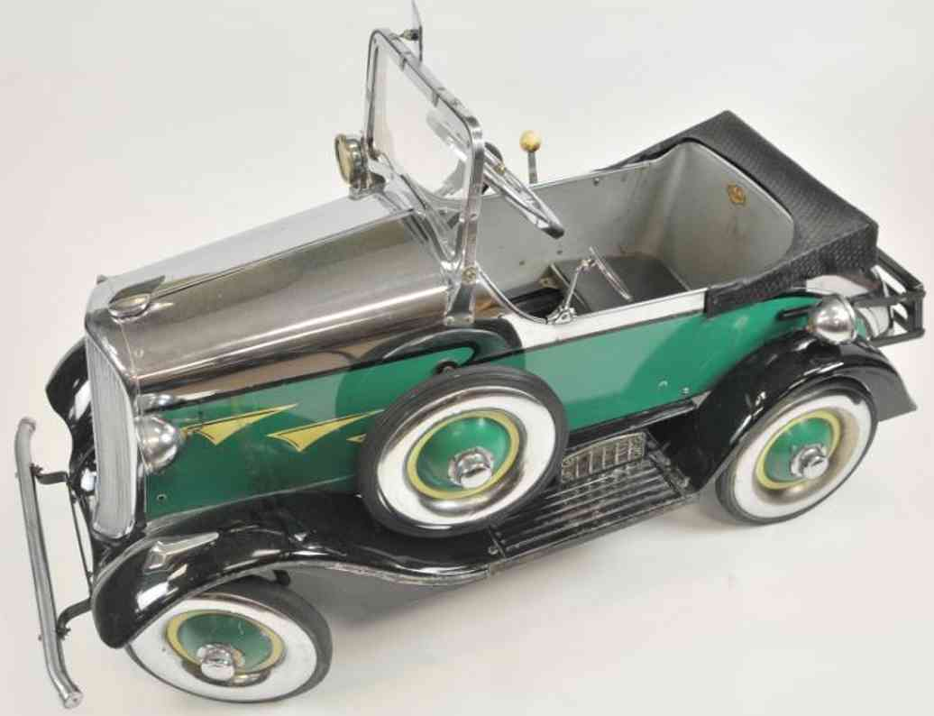 murray ohio manufacturing company steelcraft blech spielzeug auto hupauto