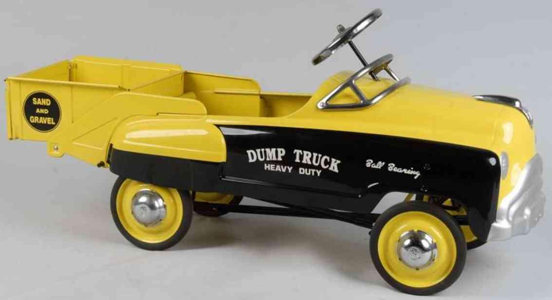 Murray Tretauto Kipplastwagen für Sand und Kies aus Stahlblech