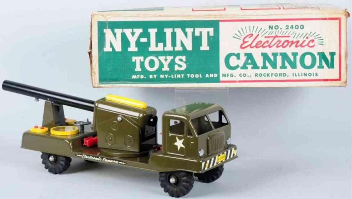ny-lint co 2400 spielzeug kanonenwagen aus stahlblech