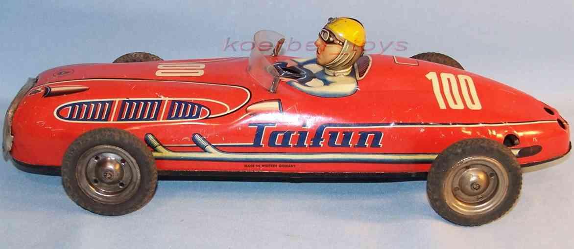 niedermeier philipp 100 tin toy racer racing car flywheel