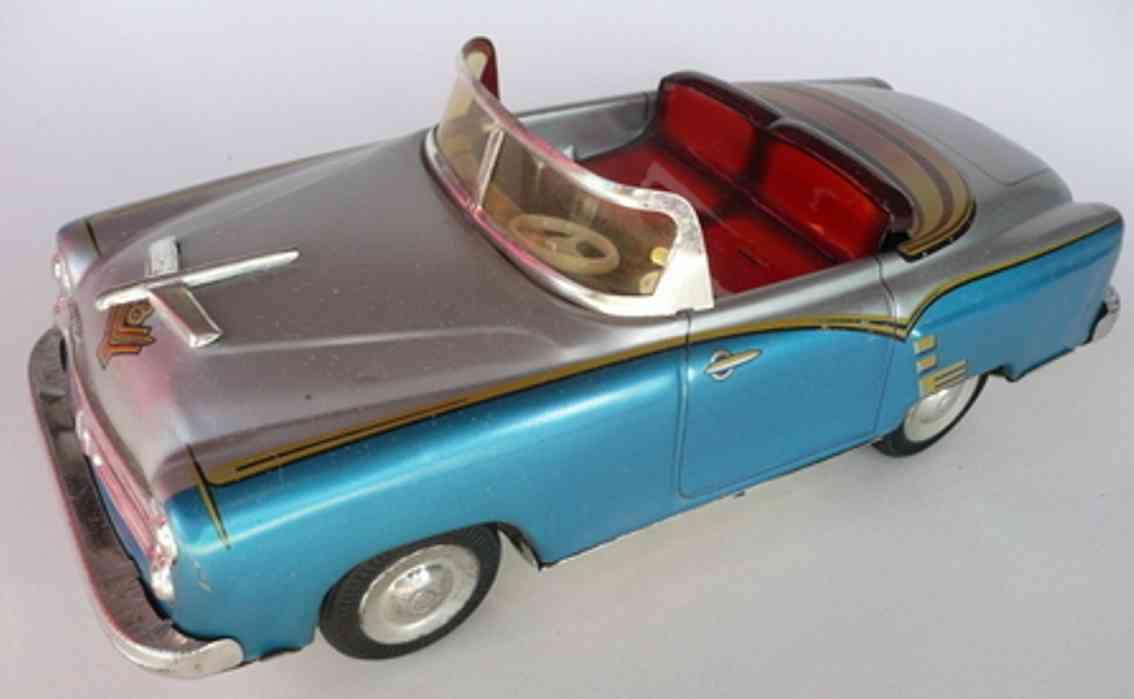 niedermeier philipp 160 blech spielzeug auto cabrio pn 160 mit friktionsantrieb