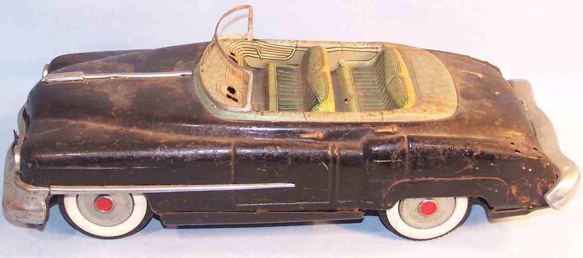 nomura toys tin toy car cadillac convertible