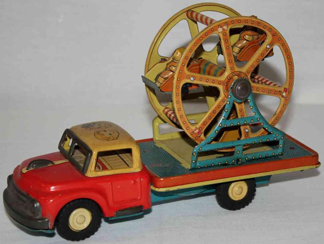 nomura toysblech spielzeug lastwagen riesenrad friktionsanbrieb