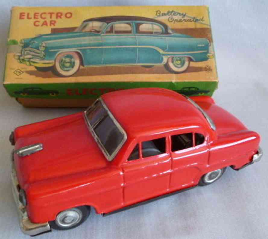nomura toys blech spielzeug ford elektroauto