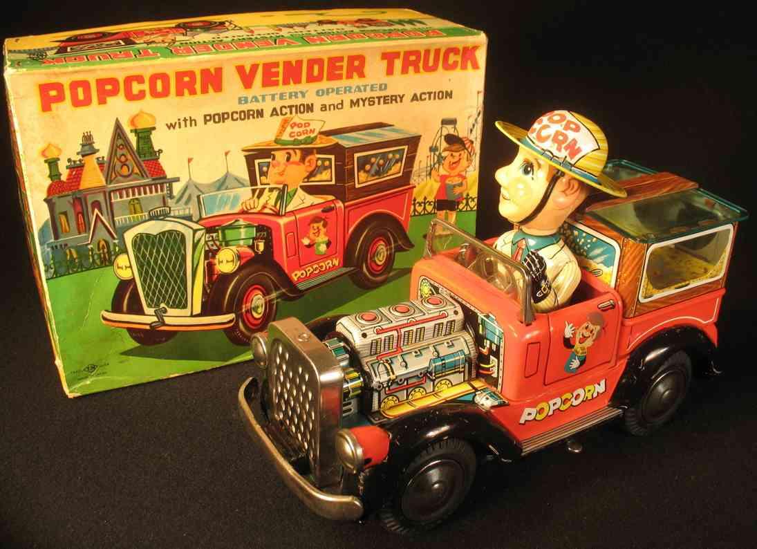 nomura toys blech spielzeug auto popcorn lastwagen