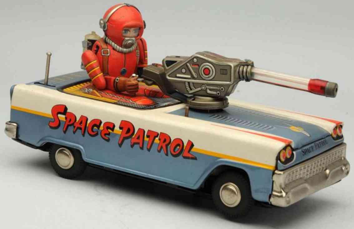nomura toys blech spielzeug raumschiff-fahrzeug batteriebetrieb