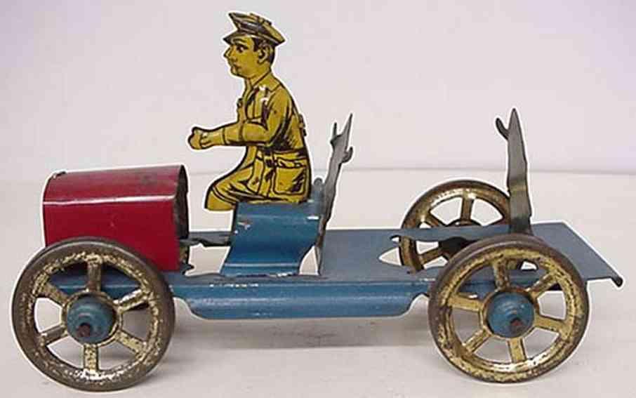 Nonpareil Toy & Novelty Feuerwehrleiterwagen