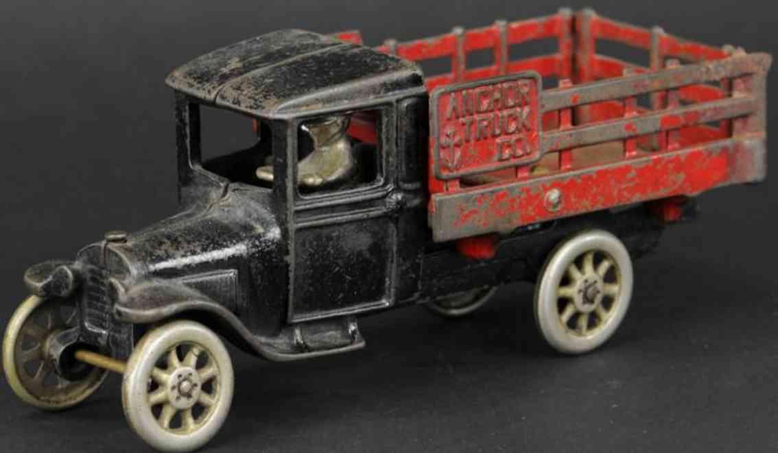 north & judd spielzeug gusseisen lieferwagen modell t