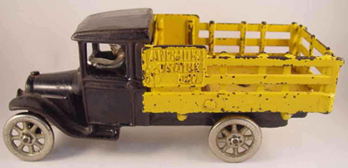 north & judd spielzeug gusseisen lastwagen fahrer