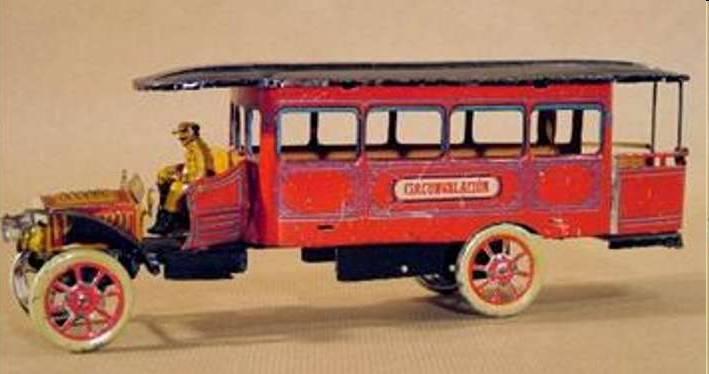 orobr blech spielzeug autobus