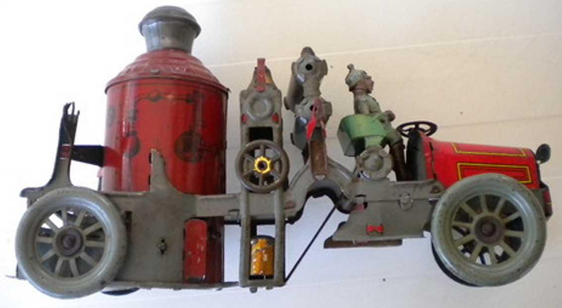 orobr blech spielzeug feuerwehr tankloeschfahrzeug