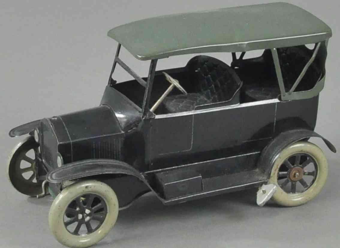 orobr blech spielzeug auto ford tourenwagen schwarz gruen
