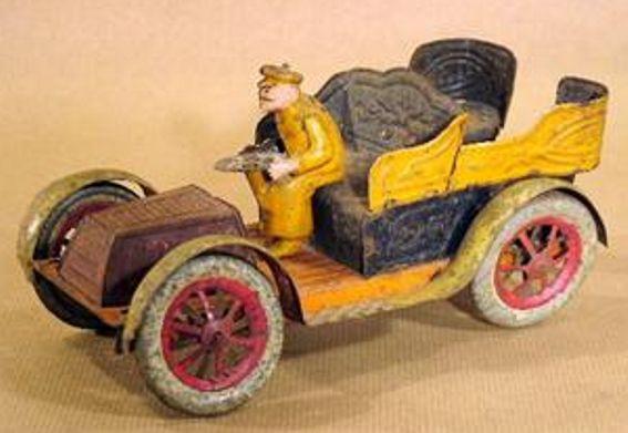 PAYA Oldtimer Auto handlackiert