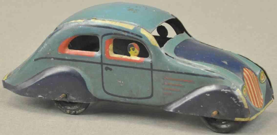 paya blech spielzeug auto ausgestanzt fahrer passagier