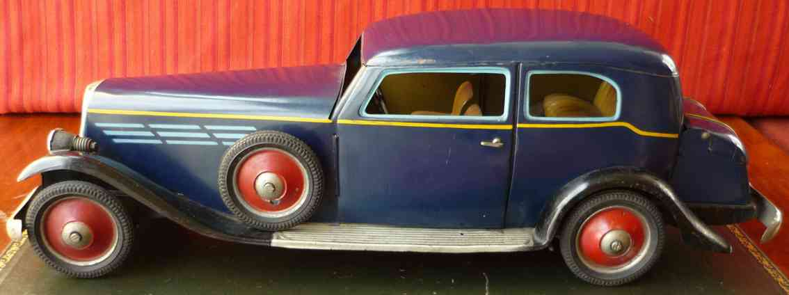 paya blech spielzeug auto horch limousine