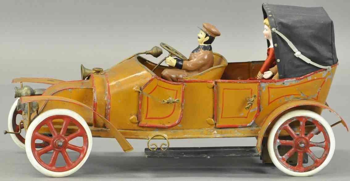pinard blech spielzeug auto offener tourenwagen mit uhrwerk