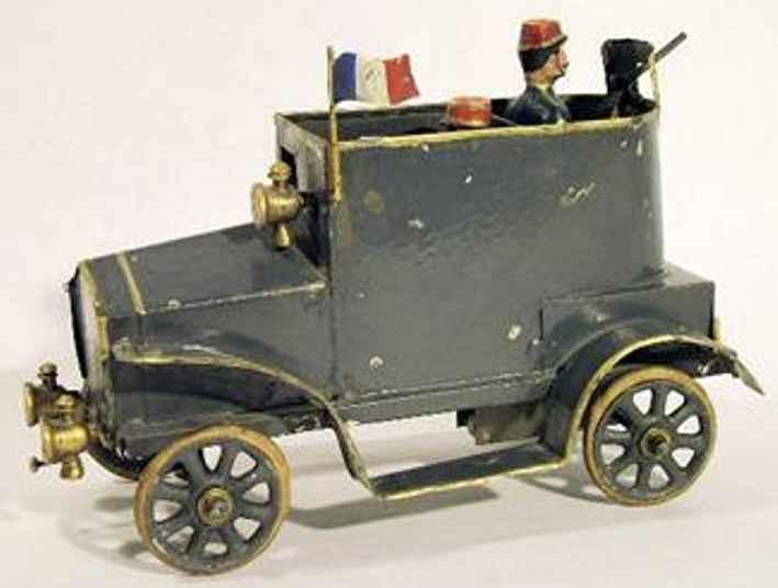 pinard blech spielzeug gepanzertes auto