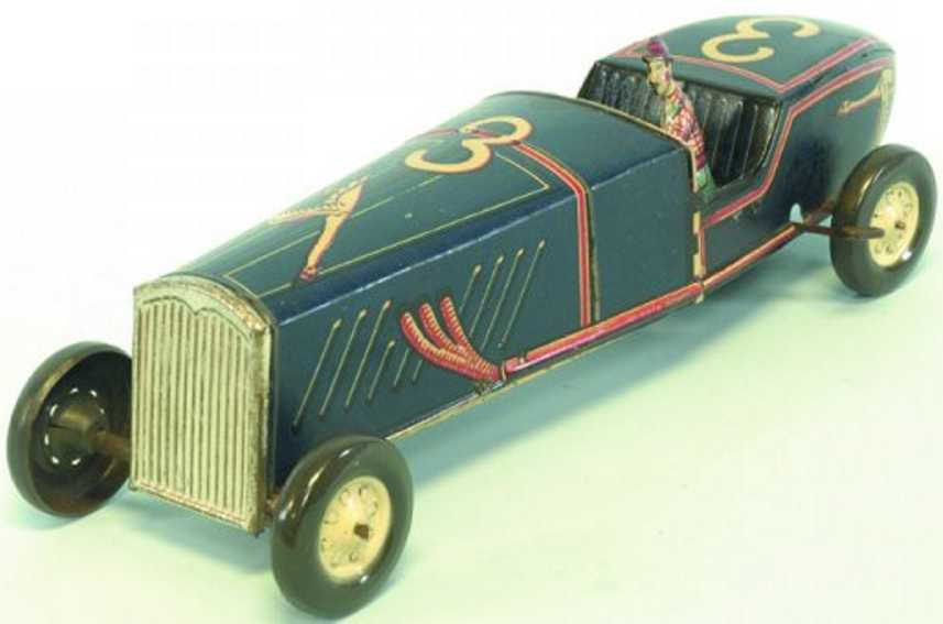 rico blech spielzeug rennauto rennwagen