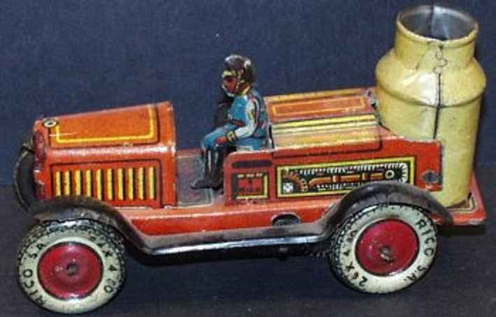Rico Fire Engine with driver