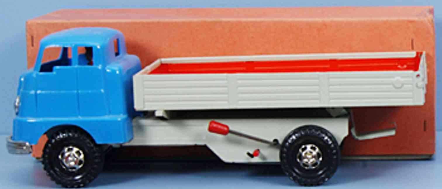 strenco 270 blech kunststoff spielzeug pritschenlastwagen
